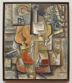 Picasso - Violin and Grapes