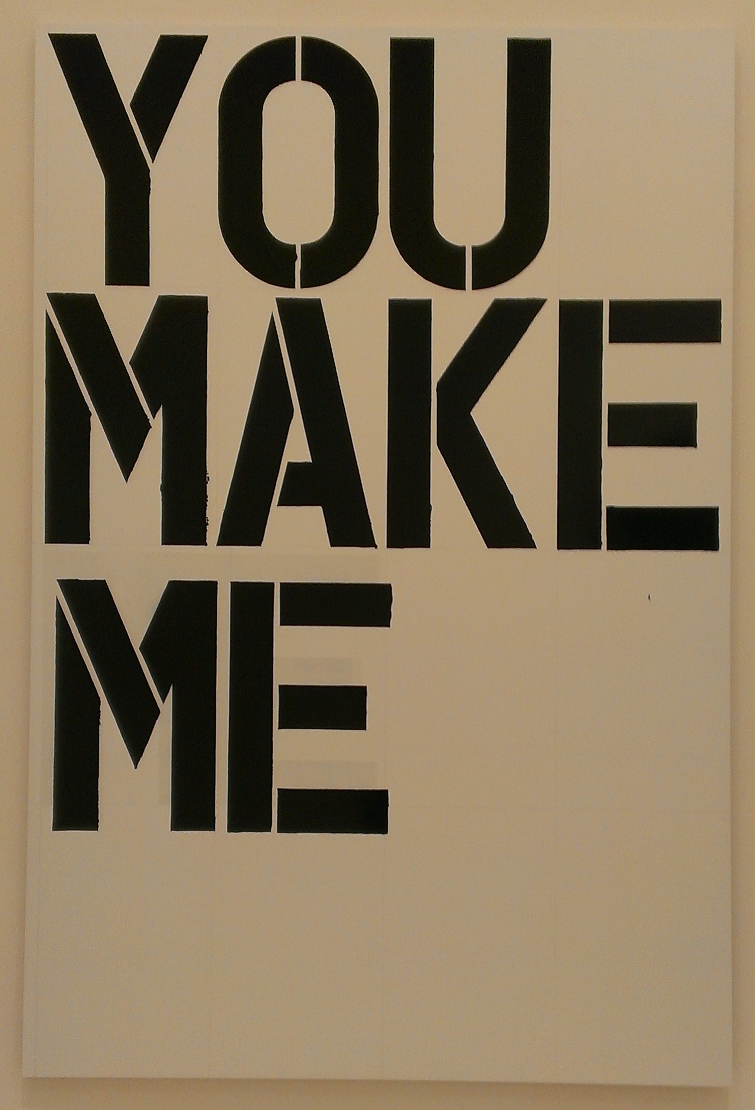 5 Untitled (You Make Me) 1997