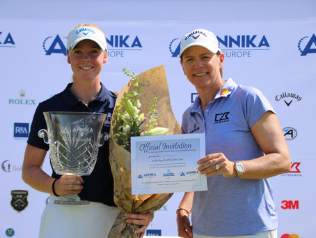 Meja Örtengren Wins 9th ANNIKA Invitational Europe