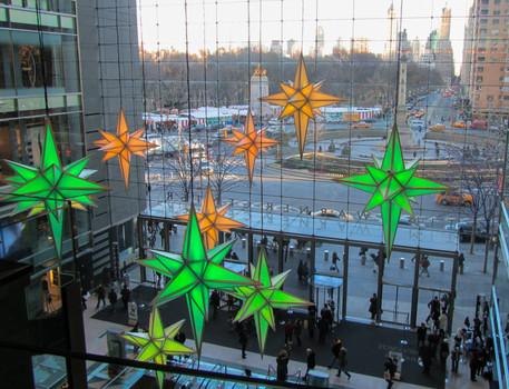 View of Columbus Circle