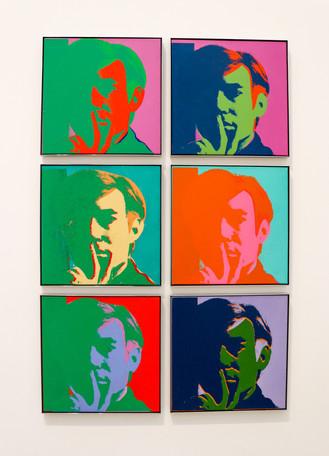 Andy Warhol - Self Portrait 1966