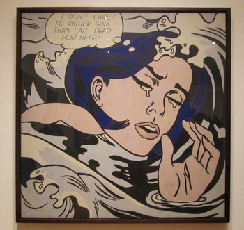 Roy Lichetenstein - Drowning Girl