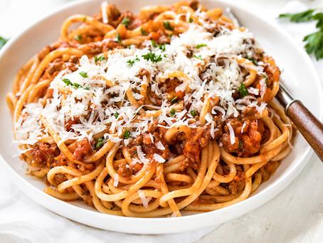 Annika's Recipe: Spaghetti Bolognese