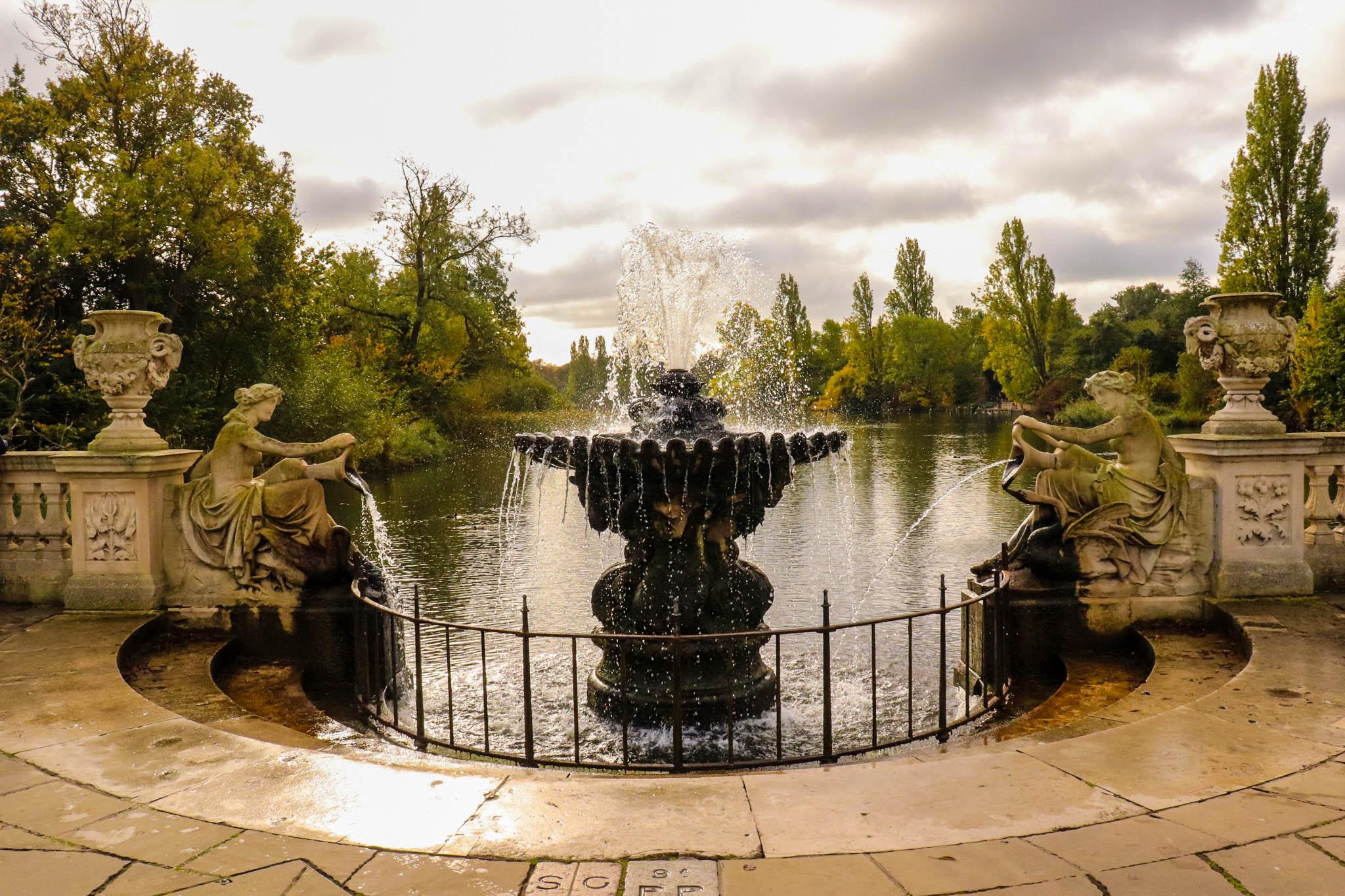 Italian Gardens, Kensington Gardens