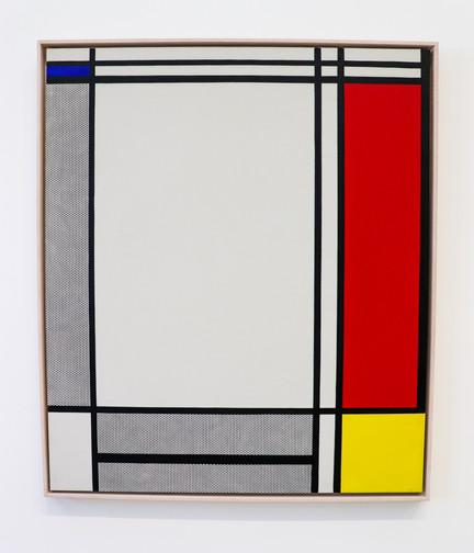 Roy Lichtenstein - Non-Objective I