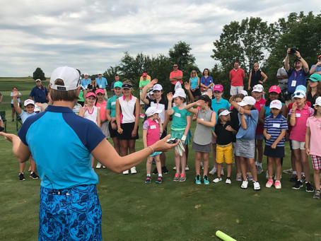 """Share My Passion"" Clinic returns to ANA Inspiration"