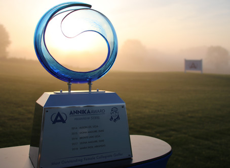 ANNIKA Award presented by Stifel Winner to be Announced in May