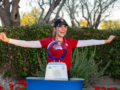 2021 NCAA Individual Champ Rachel Heck Receives 2021 ANNIKA Award Presented By Stifel