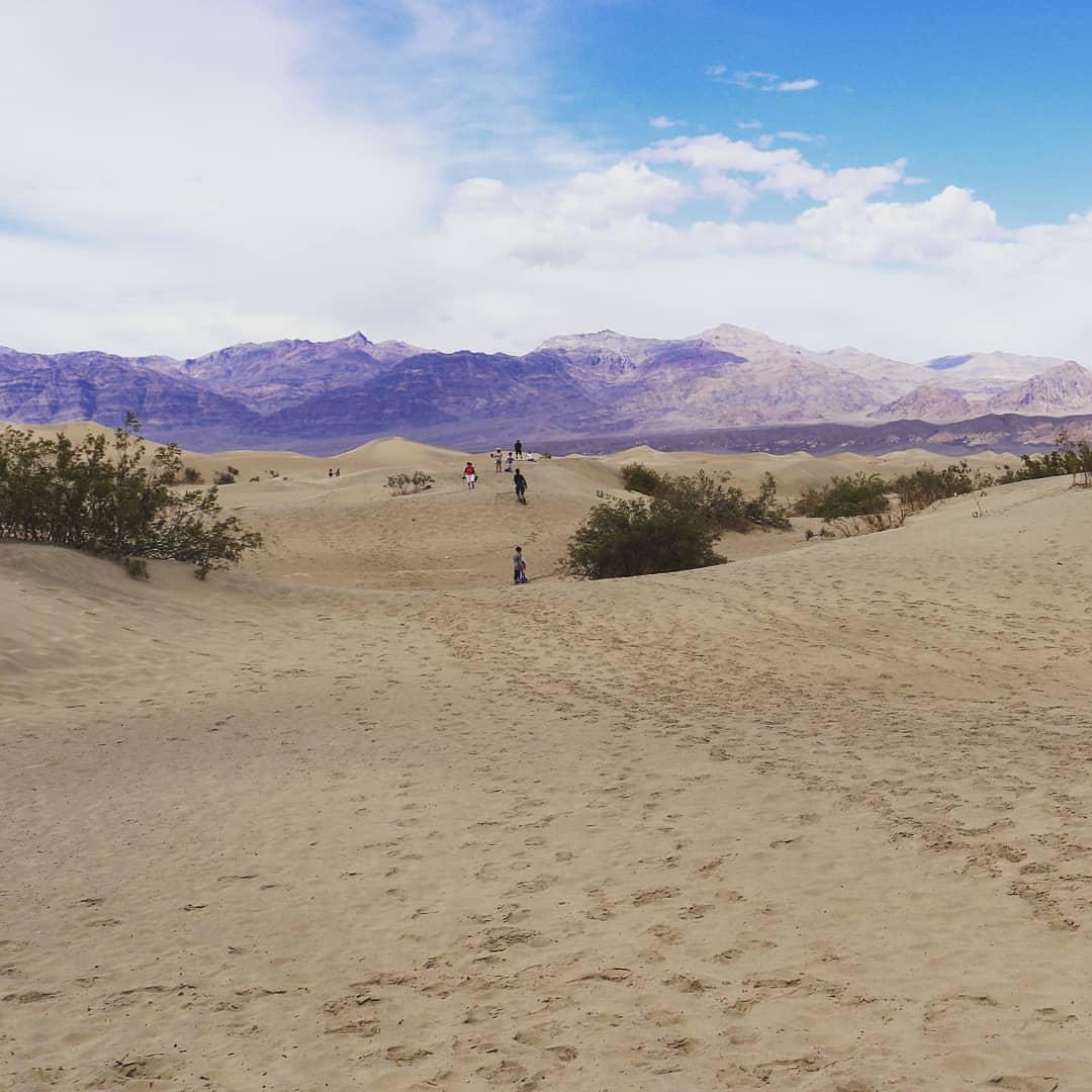 Death Valley - Mesquite Flat Sand Dun