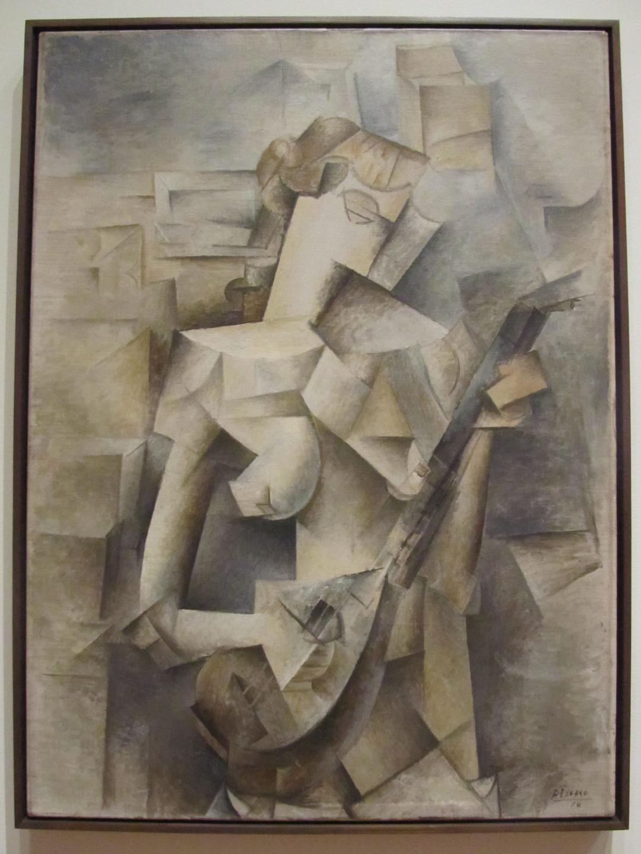 Pablo Picasso - Girl with a Mandolin