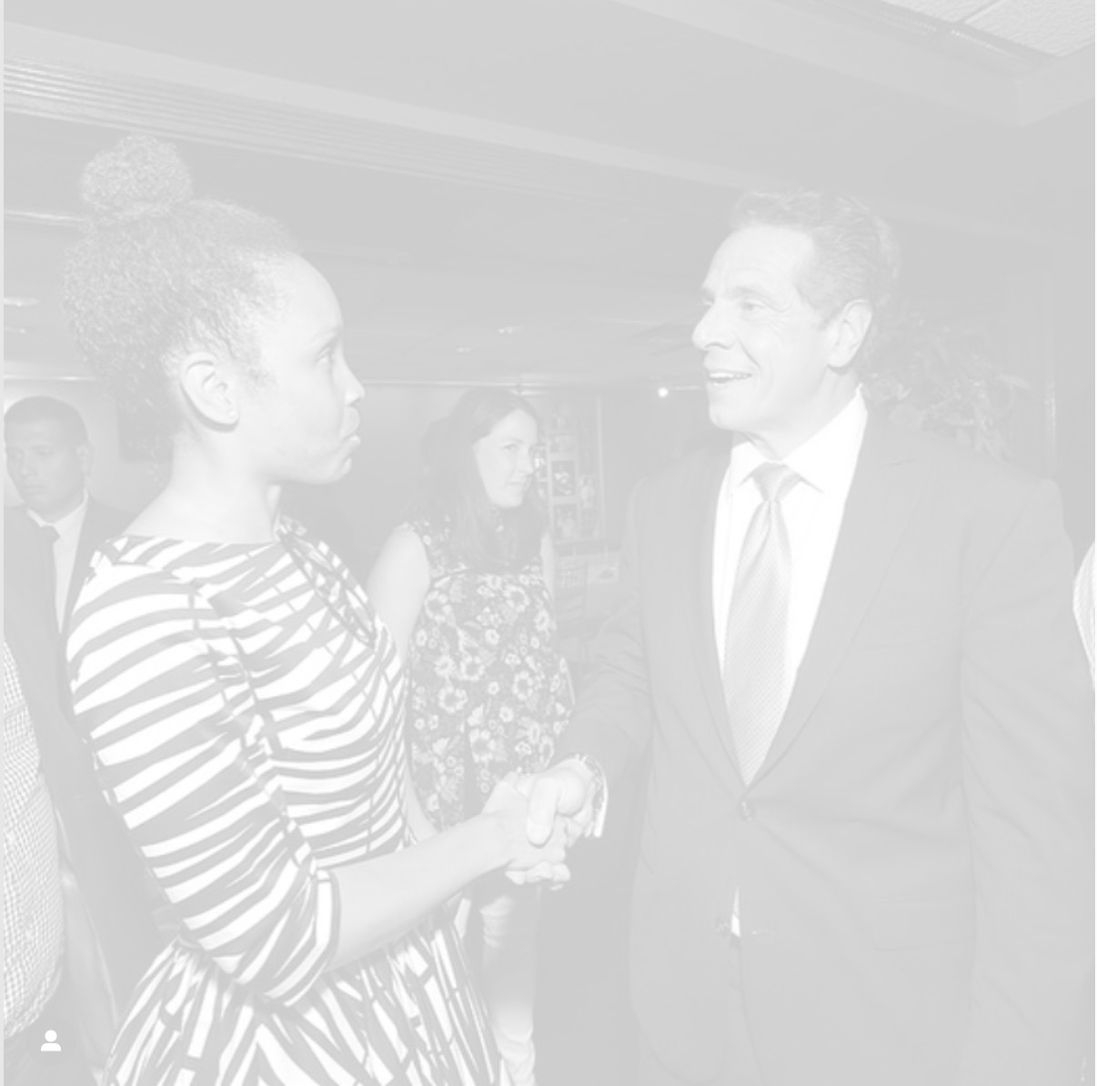 Speaking with Gov. Cuomo