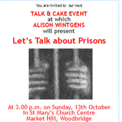 Join us for Talk & Cake