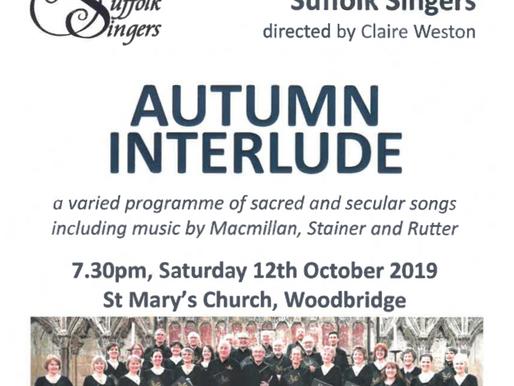 Suffolk Singers Concert