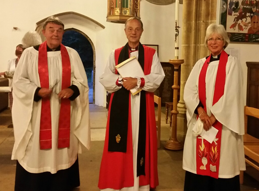 Induction of Fr Nigel