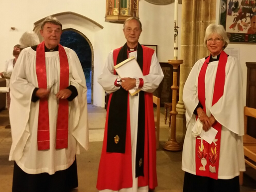 Induction of Fr Nigel