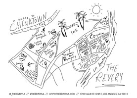 CHINATOWN MAP// THE REVERY