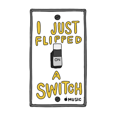 i just flipped a switch