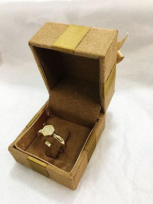 Anel em ouro 10k Lp0081