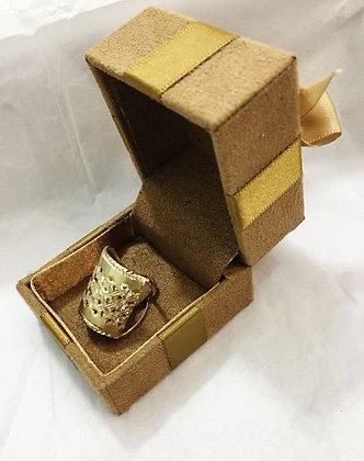 Anel em ouro 10k Lp0084