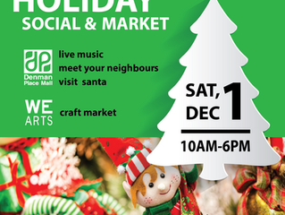 Holiday Social and Market