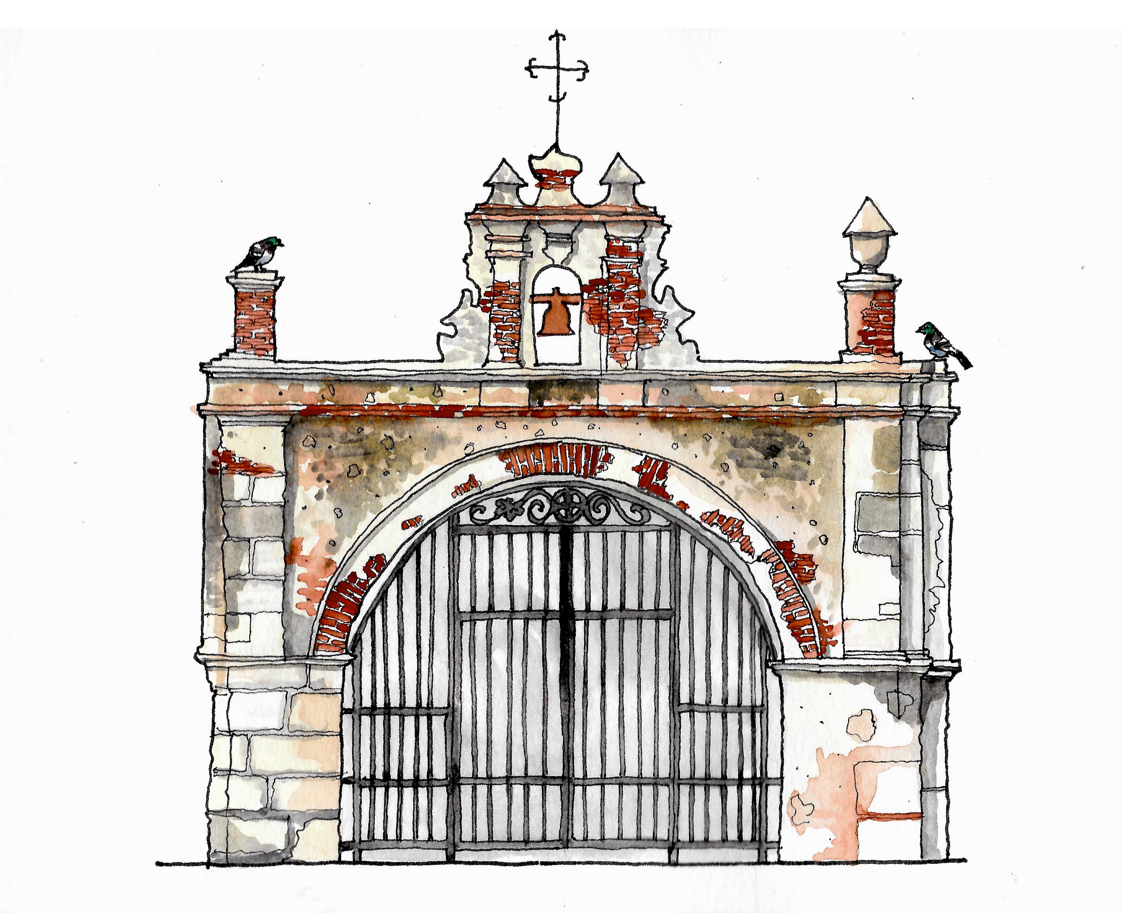 capilla del cristo illustration