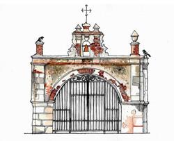 capilla del cristo illustration