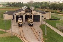 Tram 26 II an Tram 34 virum Tramsmusée.j