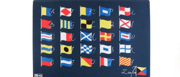 Welcome - Non-slip Mat (ABC Flags)