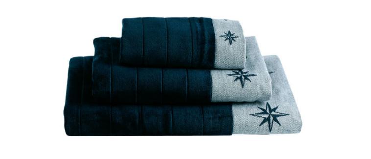 Free Style - Towel set (Navy blue)