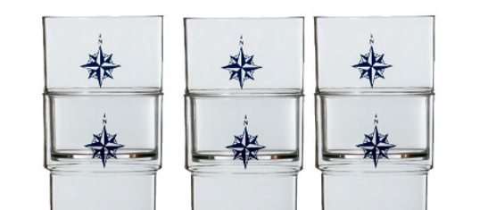 Northwind - Stackable Glass