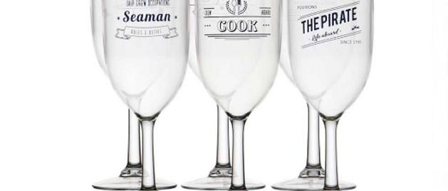 Party - Crew Wine Glass