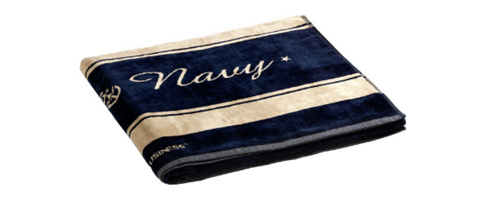 Royal - Beach towel with Pillow (Chic)