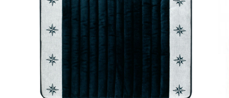 Free Style - Non-slip bathmat (Blue navy)