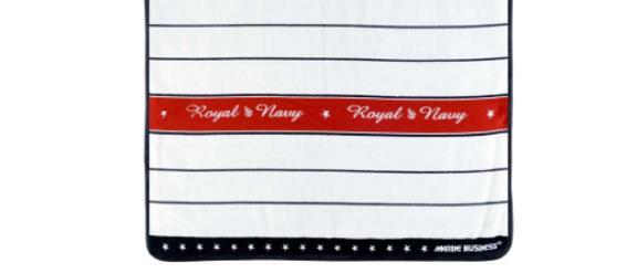 Royal - Bathroom mat (Red)