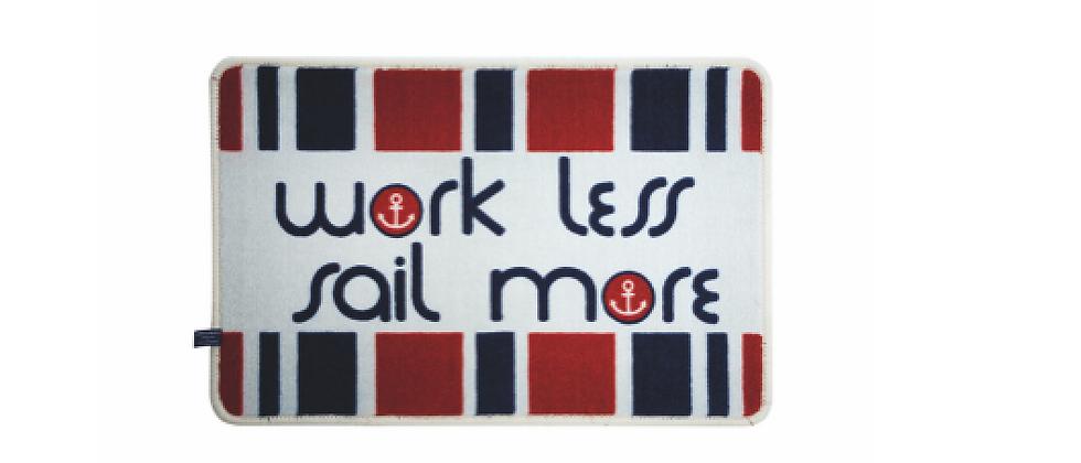 Welcome - Non-slip mat (Work less)