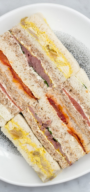 Roast Afternoon tea Finger sandwiches