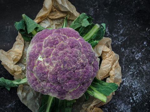 Roast Purple broccoli from Grovers