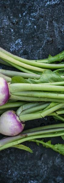 Roast Turnips