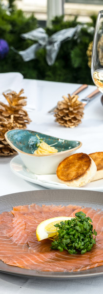 Roast Christmas_Foreman's London Cure smoked salmon_toasted English muffin with smoked eel