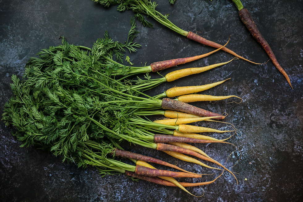 Roast_Rainbow carrots from Grovers_Low r