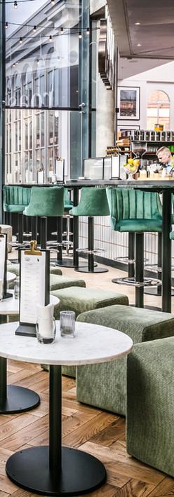 Roast Bar Interior Full Bar