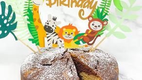 HEALTHY BIRTHDAY CAKE 🎂 • VEGAN