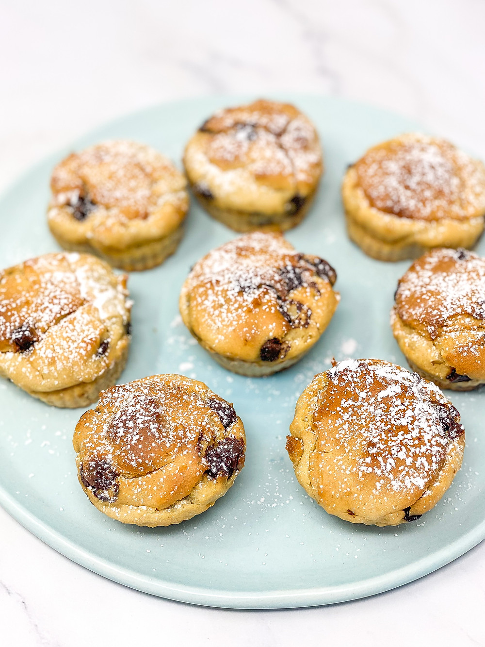 KIDS RICOTTA MUFFINS on the plate