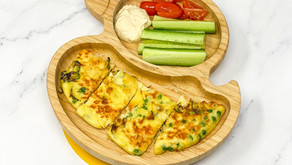 COURGETTE & PEAS OMELETTE