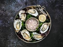 Roast Lindisfarne Rock Oysters