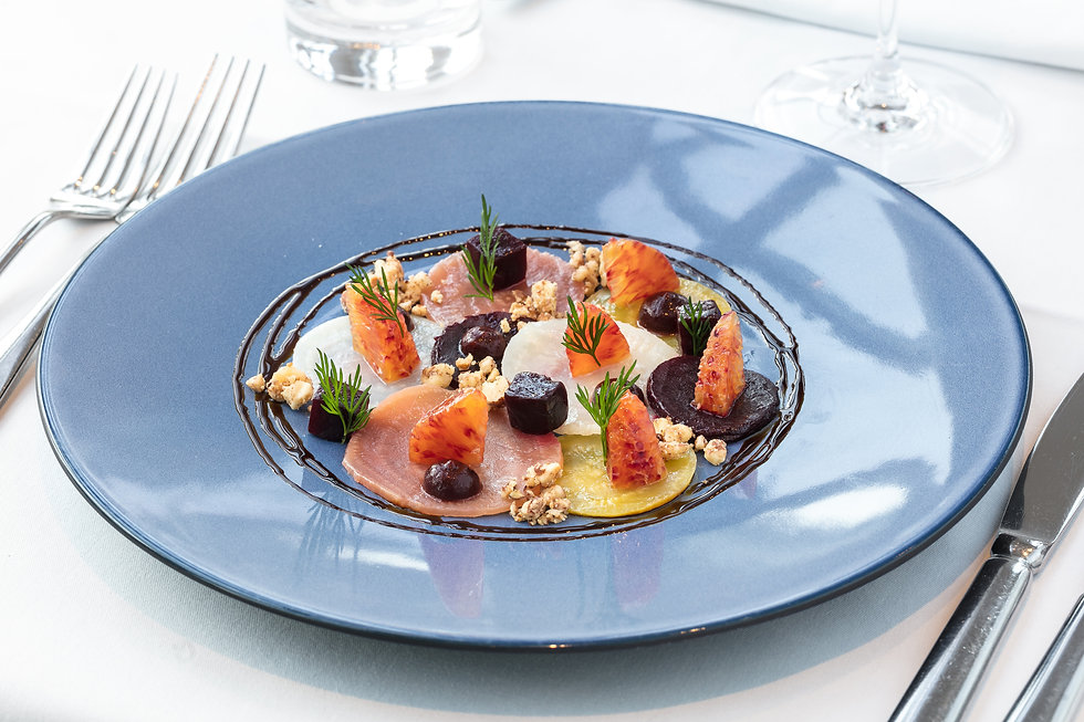 Roast_ Beetroot carpaccio_blood orange_s