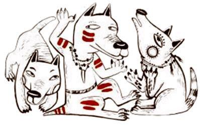 Сын волчьего вождя индейская сказка Детс