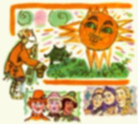сказка Солнце Месяц и Ворон Воронович де
