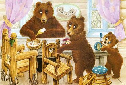 медведи пришли в домик сказка в детском