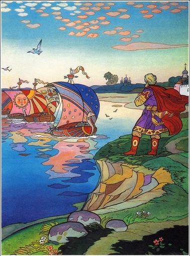 Былина Садко с картинками детский журнал